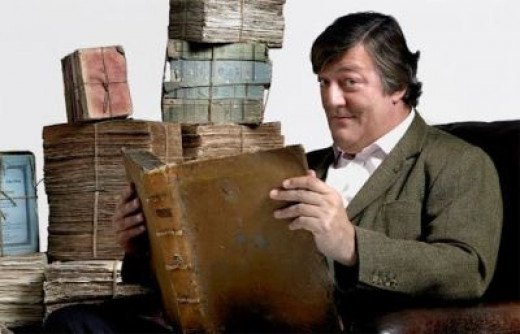 Mr Stephen Fry - the UK narrator