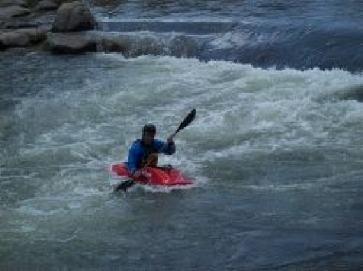 Kayak in Reno Riverfest