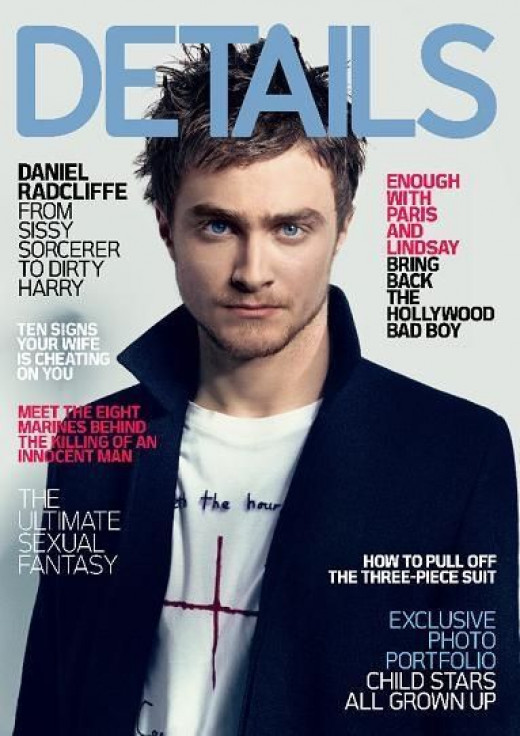 Front Cover of DETAILS magazine