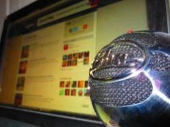 Blue Snowball USB Computer Microphone