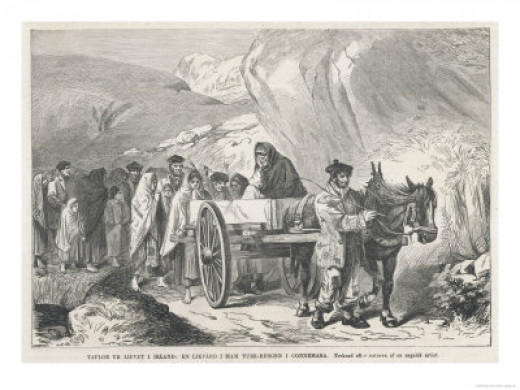 Peasant Funeral in Connemara