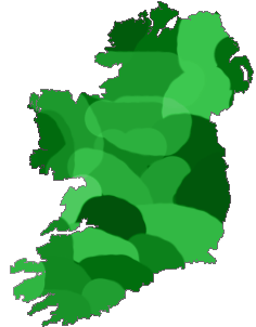 Ireland 40 shades of green