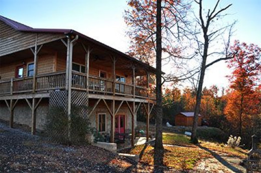 The cabin at Buck Mountain