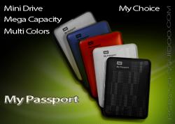 WD My Passport Portable Drives