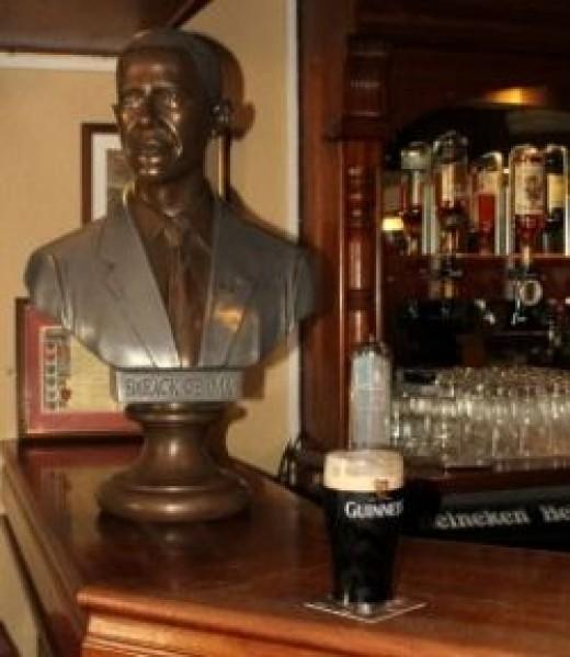 Ollie Hayes' pub Moneygall