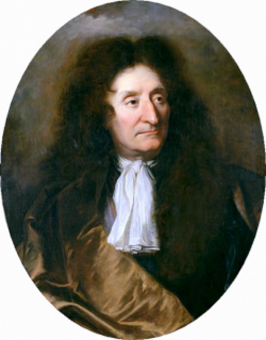 La Fontaine's portrait by Hyacinthe Rigaud