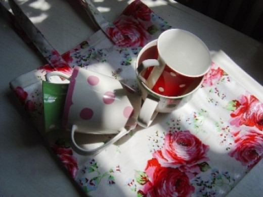 Flowers and Polka Dot Spots are Cath Kidston Hallmarks