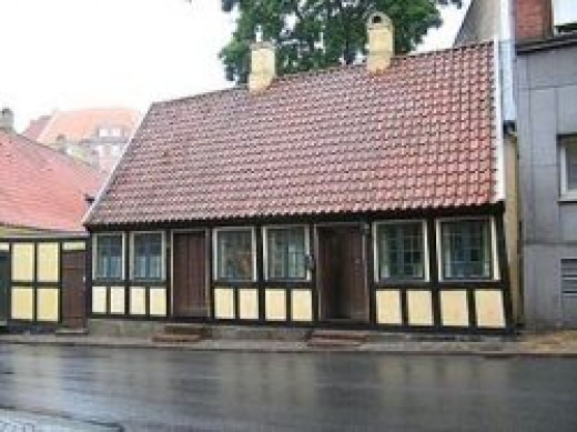 Andersen's home in Odense, source: Wikipedia.org