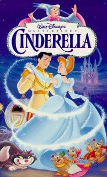 1950 poster of Cinderella