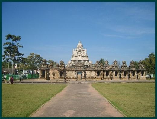 Kailashanathar Temple Kanchipuram