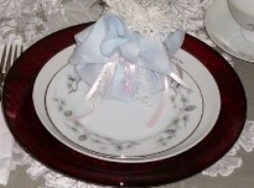 I made Lavender Sachets To Give As  Keepsake ...