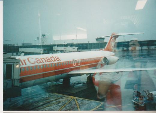 My first plane trip... WeeeeEEEEEEE