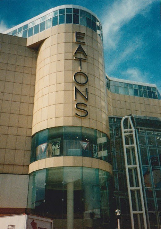 Eaton's Younge Street Entrance (i think)