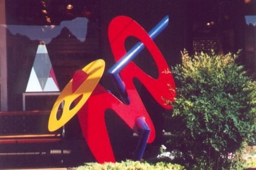 What would Sedona be without modern abstract sculpture?