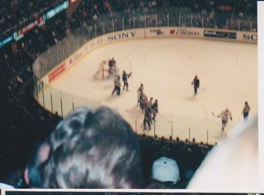 Isles @ Leafs game