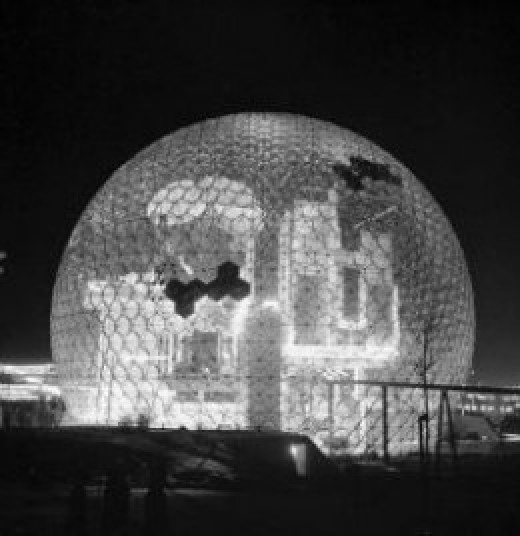 Biosphere at the Montreal Expo 1967