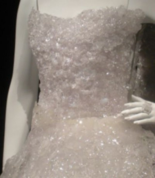 A Close-Up of Marie Line's Pillbox Dress
