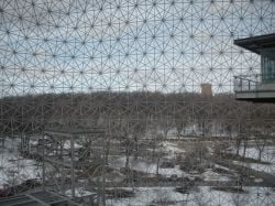 Montreal biosphere view