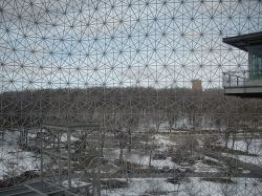 Montreal biosphere view