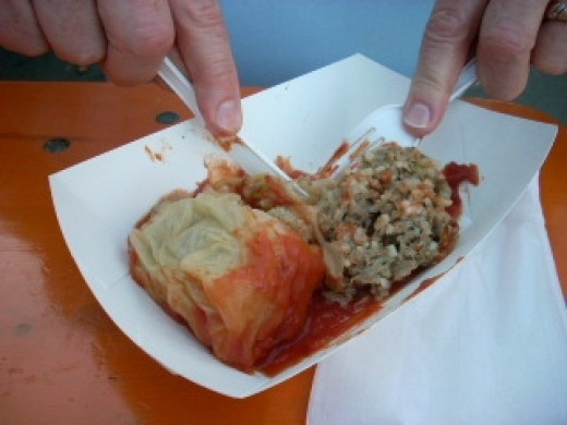 Try A Stuffed Cabbage Roll