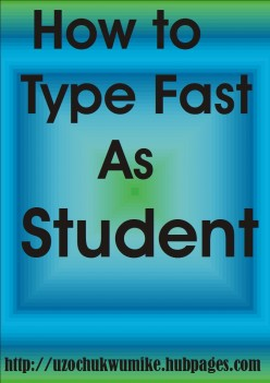 How to Type Fast with Computer as Student