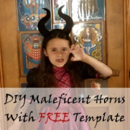How to Make Maleficent Horns With Free Template | Holidappy Disney Villain Costumes For Adults