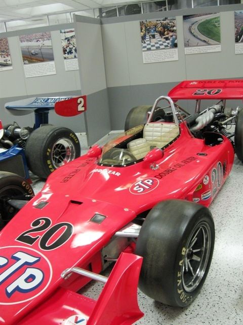 Another Eagle-Offy. (Offenhauser engine) Gordon Johncock drove this for the win in 1973.