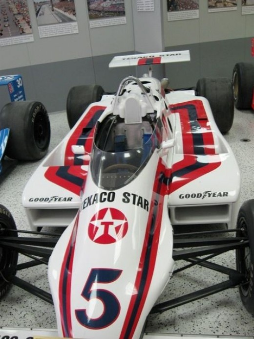 This is a March-Cosworth. It's Tom Sneva's 1983 winner.