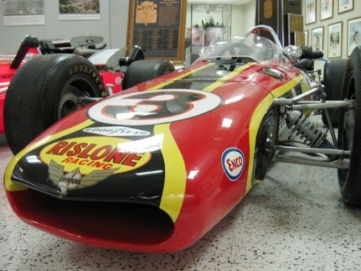 Another view of Bobby Unser's 1968 winner.