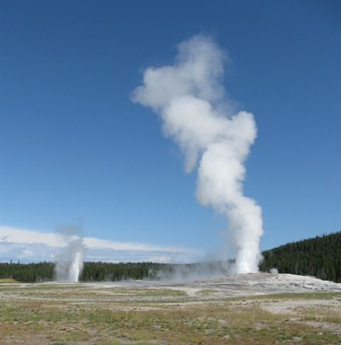 It's called Old Faithful for a reason