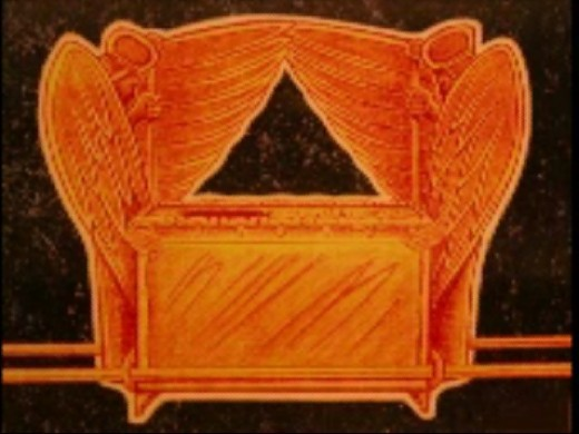 "Drawing of ""Ark of Covenant"" by Jim Pinkoski for Mr. Wyatt"
