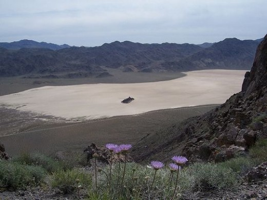 Racetrack Playa and Grandstand