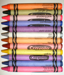 Crayola's Colors Of Crayons