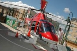 The Terrace, Discovery Gateway: Kids get a chance to get inside a real helicopter.