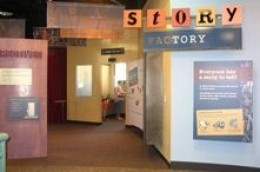 Toy Factory, Discovery Gateway: Kids get to make toys, play with new types of toys, play with puppets and interact with educational toys.