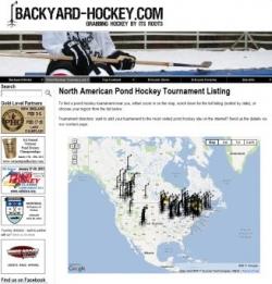 North American Pond Hockey Tournament listing - Backyard-Hockey.com