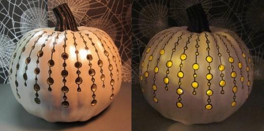 Dremel Tool Pumpkin Carve Holes Sharpie Paint