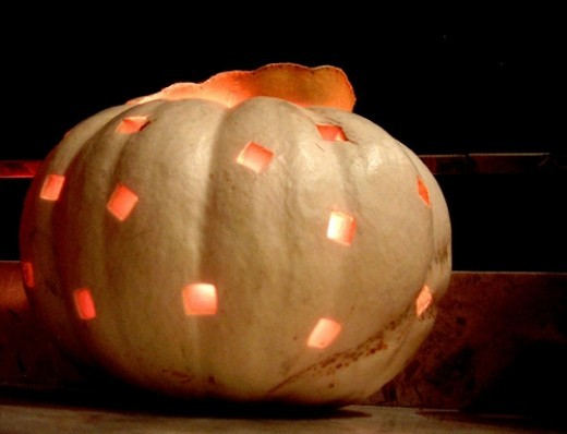 square holes pumpkin carving