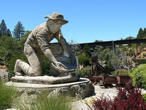 Gold Miner Statue in Auburn, California