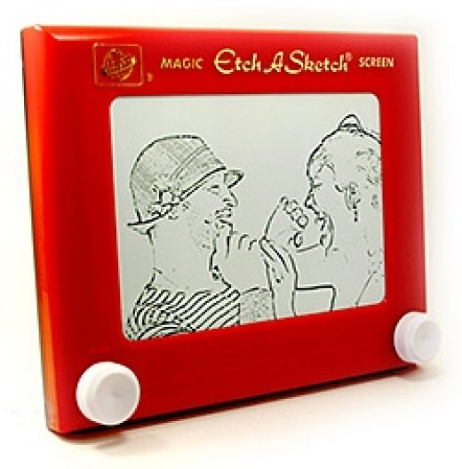 Etch A Sketch Photo Craft Projects