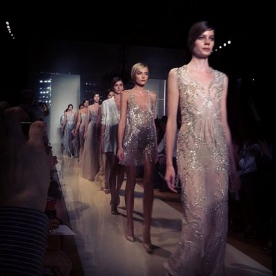 Pastels Are The Hot Trend In Evening Gowns This Season....