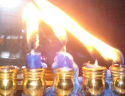 Chanukkah Candles