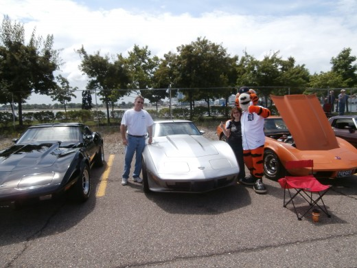 The Corvettes 60th Birthday party was so much fun, However, having a some great friends along made the day all the more special. Ken, and Bev Torri are Corvette lovers, they own a wonderful 1978 Anniversary Edition.