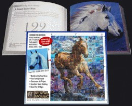 The Horse Gift Mosaic Mural Book