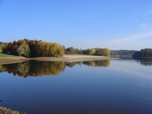 Limousin is a land of lakes and woodlands