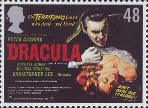 Peter Cushing as Dracula from UK