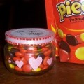 Homemade Valentine: Reese's Pieces