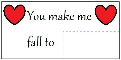 Print Out Label for Valentine's Day Gift