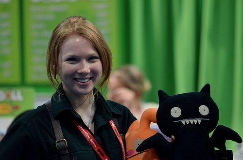 Molly Quinn at Comic Con