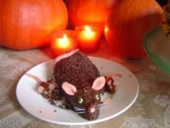 Fat Rat Cakes for Halloween